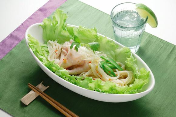 ベトナム風そうめんサラダ
