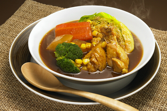 和風カレースープ