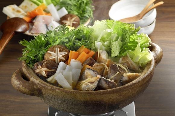 ブリ大根のポカポカ生姜鍋