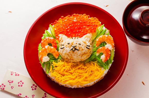 だしねこのちらし寿司