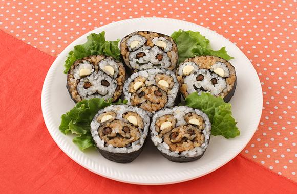 くまの巻き寿司