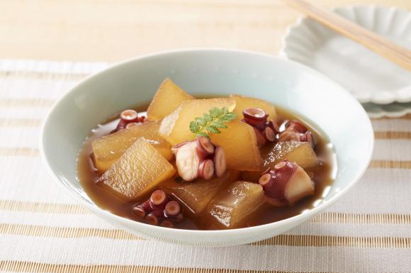 冬瓜とたこの冷たい煮物