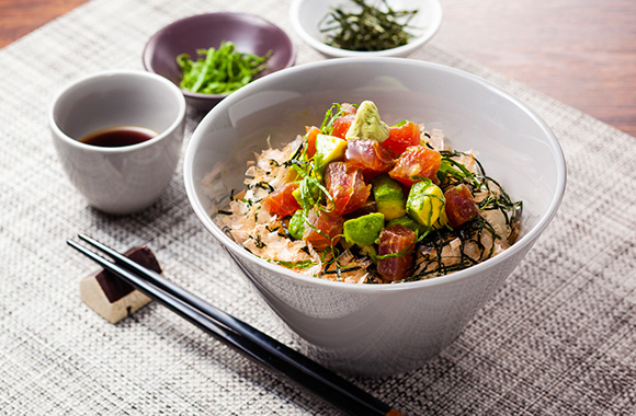 「マグロアボカド丼」の画像検索結果