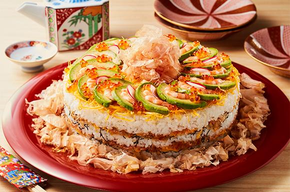 ミルフィーユちらし寿司