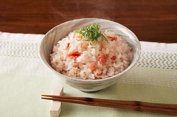 和歌山風梅の炊き込みご飯