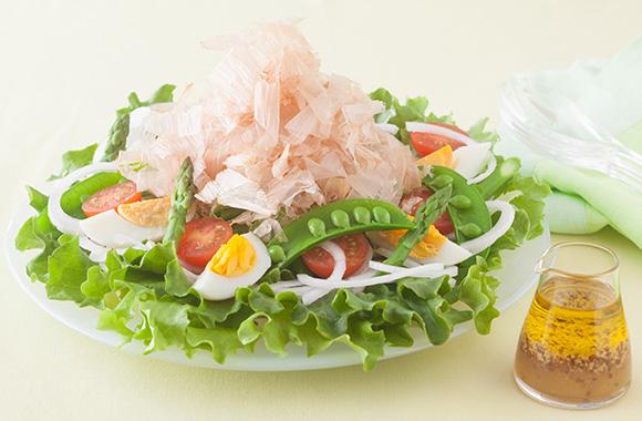 春野菜サラダ マスタードドレッシング