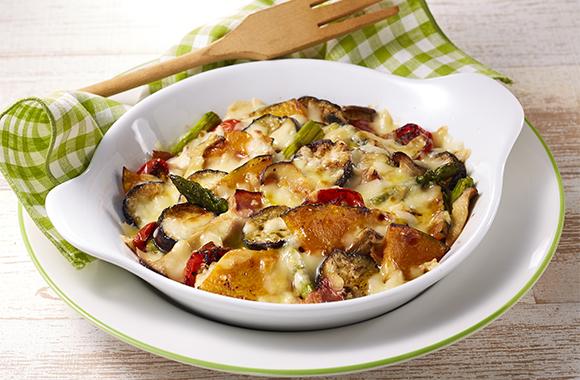 彩り野菜のチーズグリル
