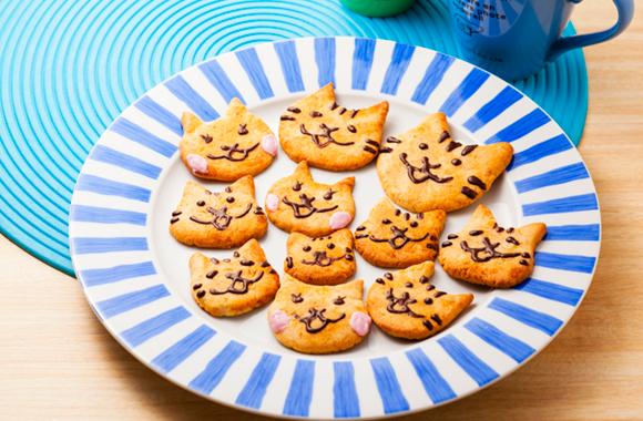 だしねこクッキー