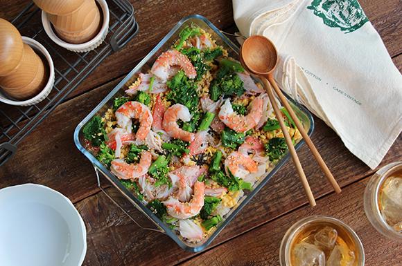 酢飯の味がピタッと決まる!簡単ちらし寿司