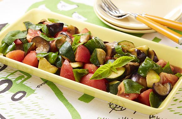 夏野菜のイタリアンマリネ
