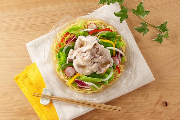 サラダらー麺
