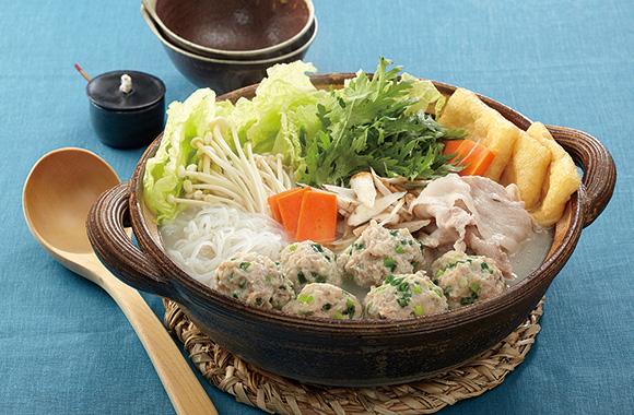 冬野菜のだし塩ちゃんこ鍋