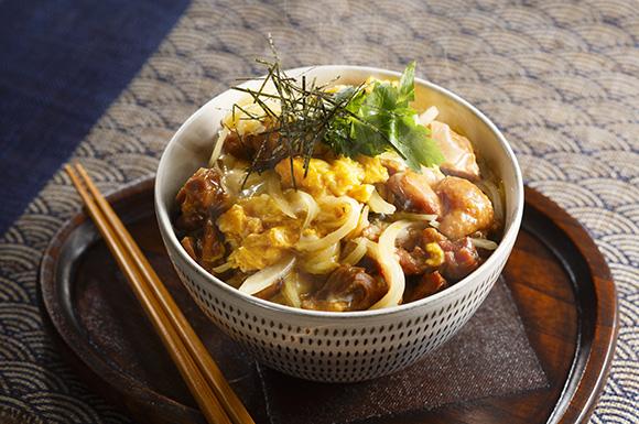 焼き鳥串de親子丼