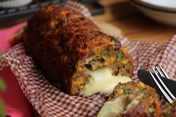 チーズインミートローフ