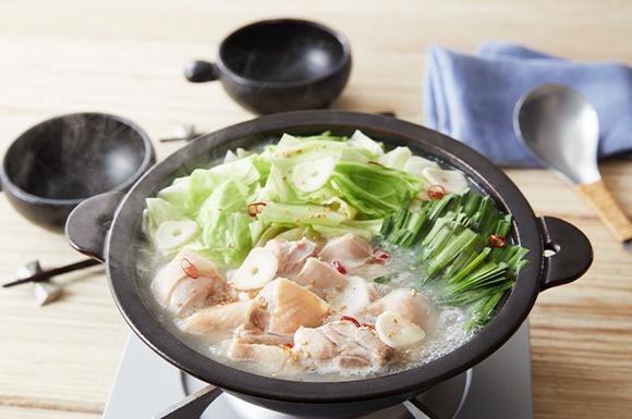 鶏肉と春キャベツのうま塩鍋