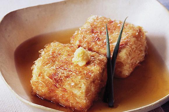 かわり揚げ出し豆腐