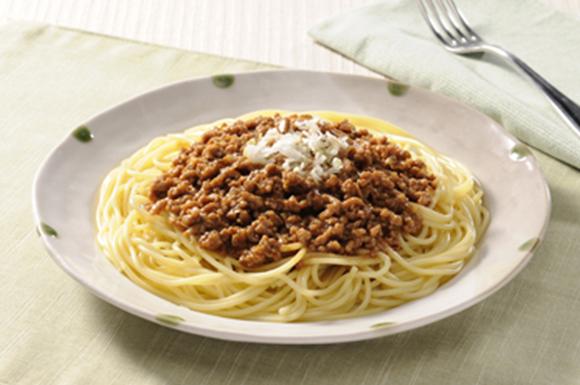 味噌ミートソーススパゲッティ