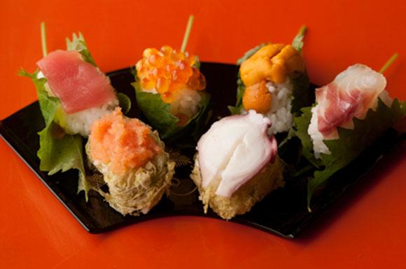 """コロコロかわいい""""てまり寿司"""""""