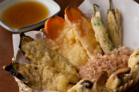 旬の夏野菜まるごと天ぷら
