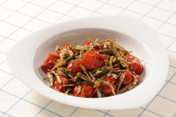 煮干しのミニトマト煮