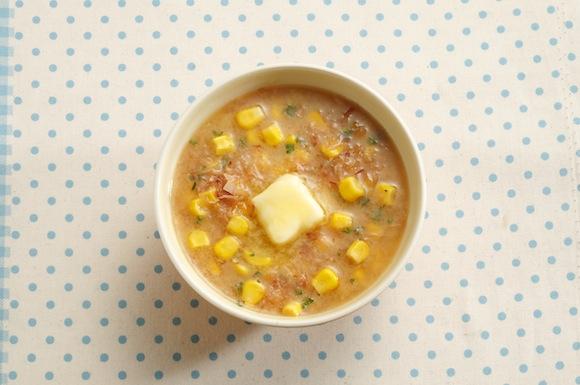 味噌バターコーンかちゅー湯