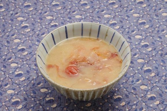 梅干入りかちゅー湯