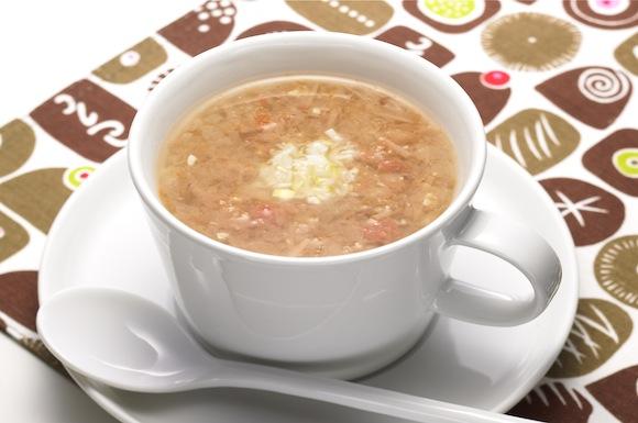 梅肉みそスープ