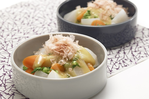 大根の温野菜サラダ
