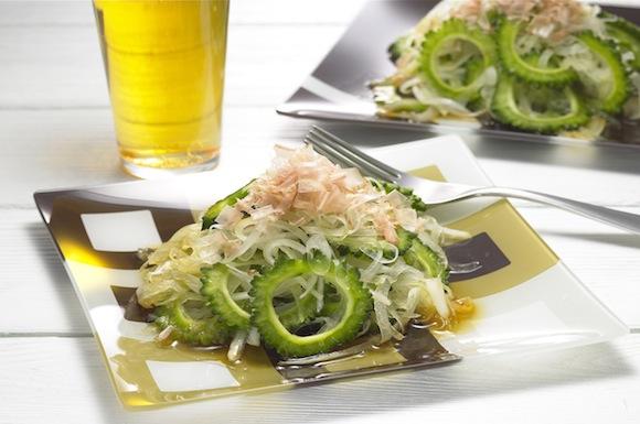 玉ねぎとゴーヤーのサッパリサラダ