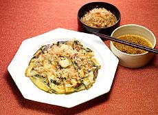 韓国風お好み焼き チヂミ