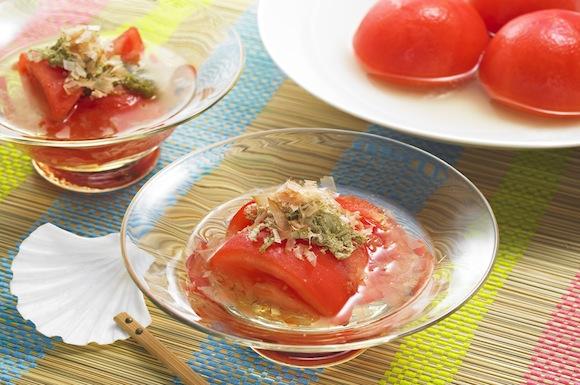 トマトの冷やし煮