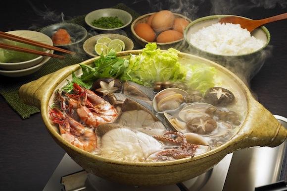 ブリたっぷり海鮮鍋