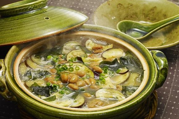 納豆みそ鍋