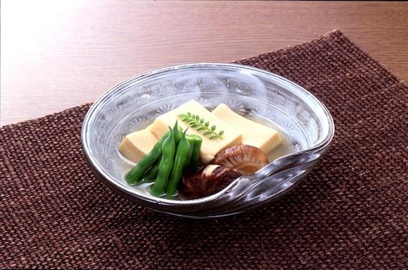 高野豆腐としいたけの炊き合わせ