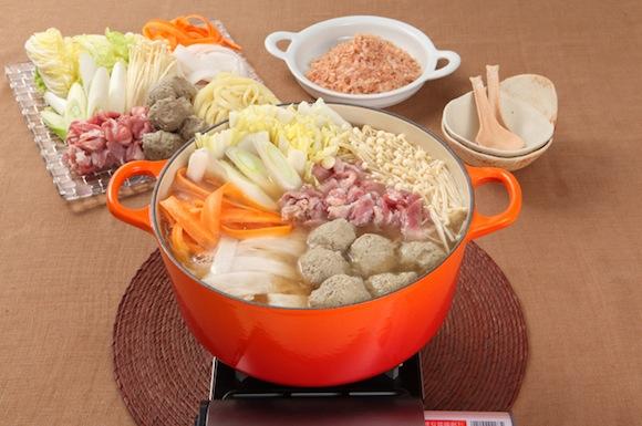 山盛り野菜の寄せ鍋