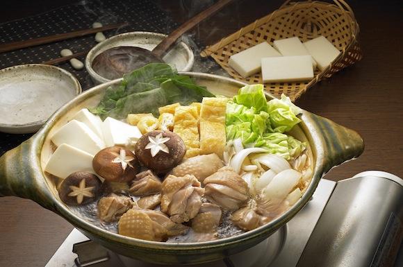 鶏肉とキャベツのちゃんこ鍋